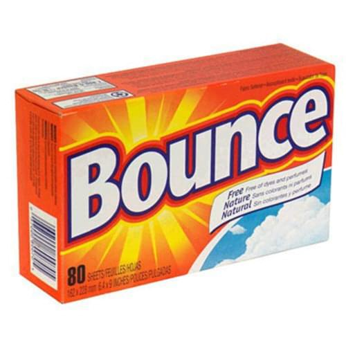 Bounce Fabric Softener 80 Sheets/box 9 Boxes Per Case