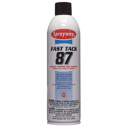 Sprayway Fast Tack 87 General Purpose Mist Adhesive 13oz