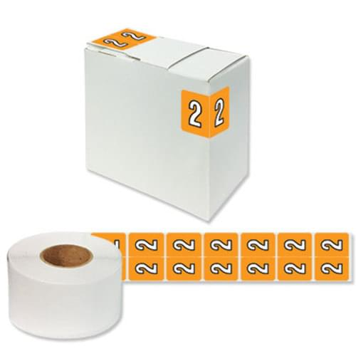 "Number Labels ""2"" 256/Pack"