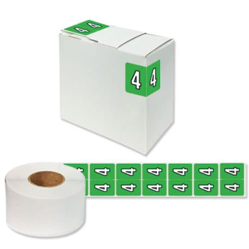 "Number Labels ""4"" 256/Pack"