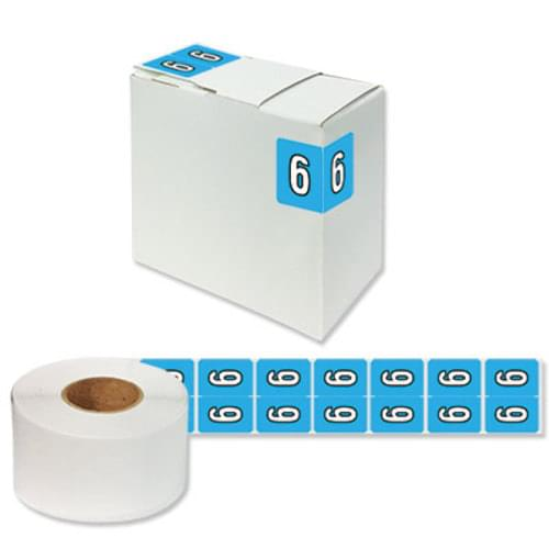 "Number Labels ""6"" 256/Pack"