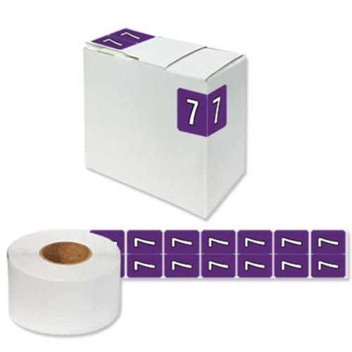 "Number Labels ""7"" 256/Pack"