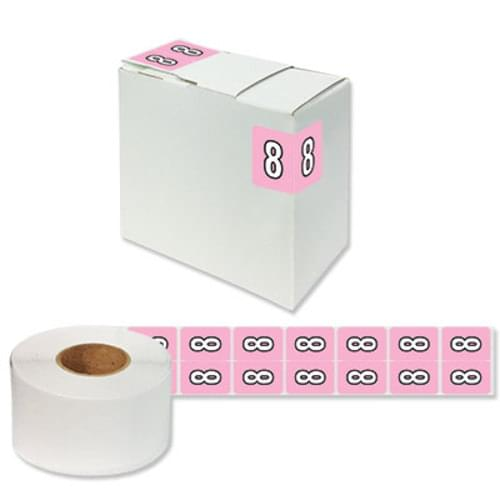 "Number Labels ""8"" 256/Pack"