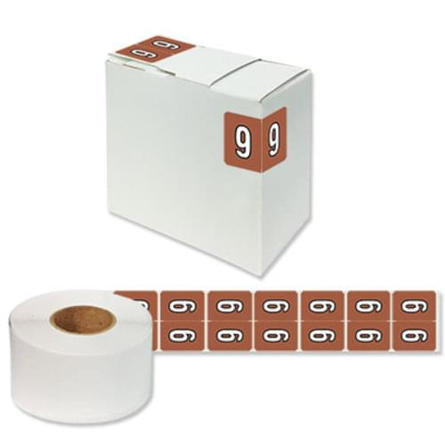 "Number Labels ""9"" 256/Pack"