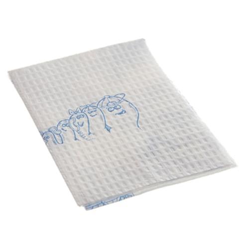 2 Ply, Poly-backed Podiatry Towel
