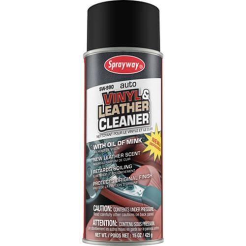 Sprayway 990 Vinyl Leather Cleaner 15oz