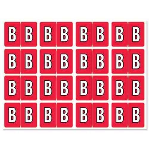 """Letter """"B"""" 256/pack"""