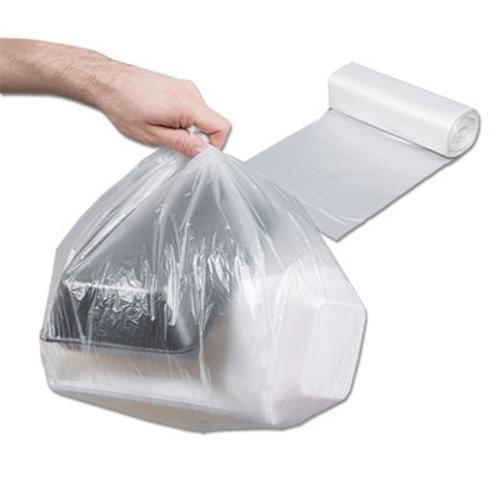 "Garbage Bag Clear 22"" x 24"" 500/cs"