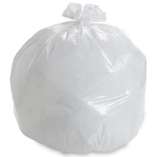 """Garbage Liner Size 20"""" x 22"""" White 250/cs"""