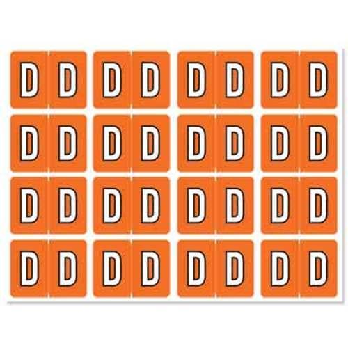 """Letter """"D"""" 256/pack"""