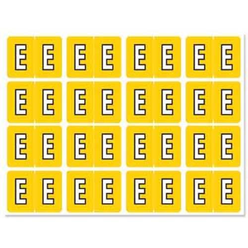 """Letter """"E"""" 256/pack"""