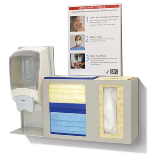 Bowman Respiratory Hygiene/Flu Station
