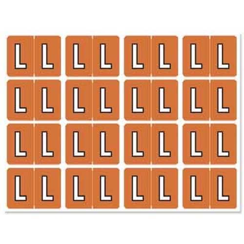 """Letter """"L"""" 256/pack"""