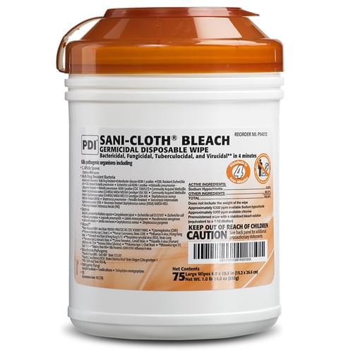 Sani-Cloth® Bleach Germicidal Wipe Large