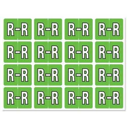 "Letter ""R"" 256/pack"