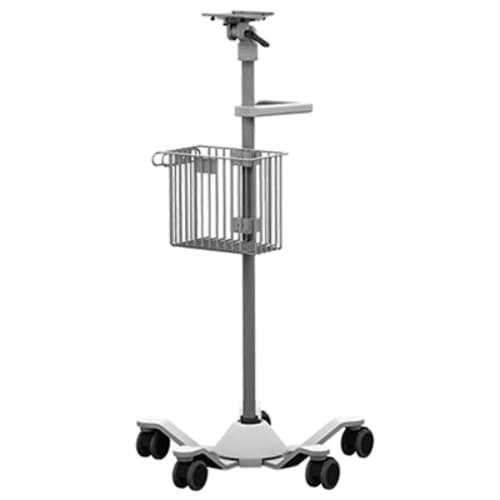 """Amico Roll Stand 42"""" with Accessory Disk and Laptop Holder Kit"""
