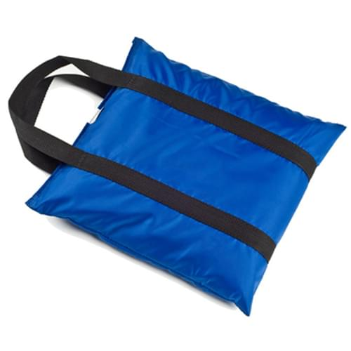 """Sand Bag Positioning 7""""X12"""" Vinyl With Handle Royal Blue 5Lbs"""