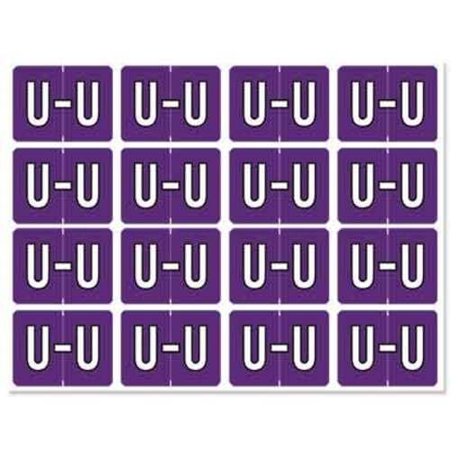 """Letter """"U"""" 256/pack"""