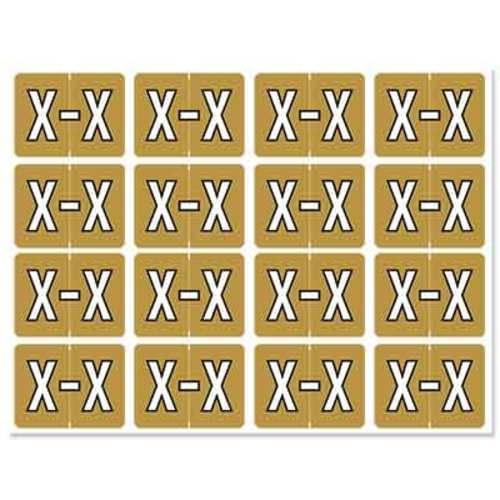 "Letter ""X"" 256/pack"