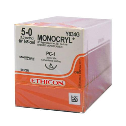 Ethicon Monocryl Sutures