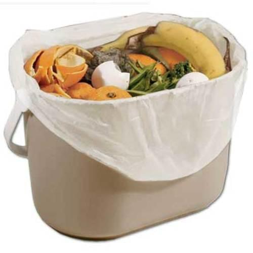 "Kitchen Bin Bag 17"" x 17"" Compostable 500/cs"