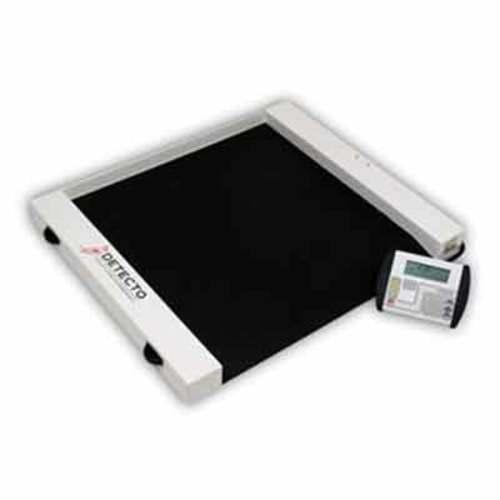 "Detecto CR1000D ""Roll-A-Weigh"" Wheelchair Scale"