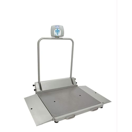 Health O Meter Model 2610KG Digital Wheelchair Scale KG Only