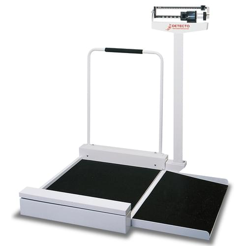 Detecto 4951 Stationary Mechanical Wheelchair Scale