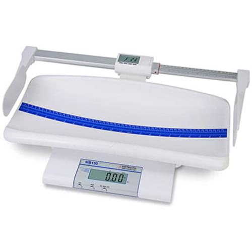 Detecto MB130 Digital Pediatric Scale with Weighing Tray