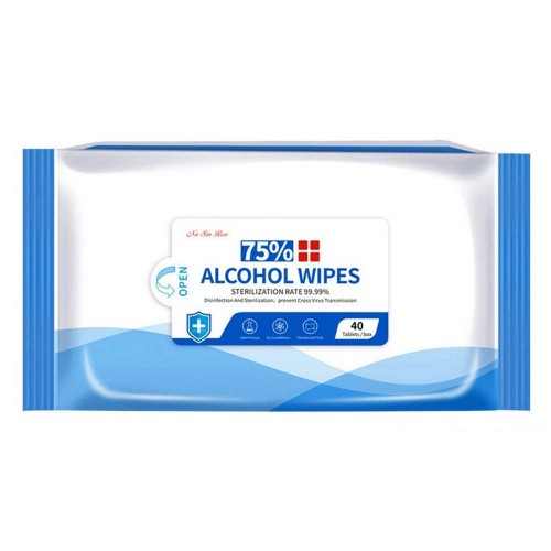 75% Alcohol Wipes 40 Wipes/Pack