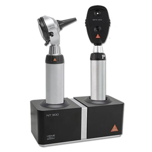 Heine Diagnostic Set With BETA® 400 Otoscope & BETA® 200 Ophthalmoscope & NT300 Charger