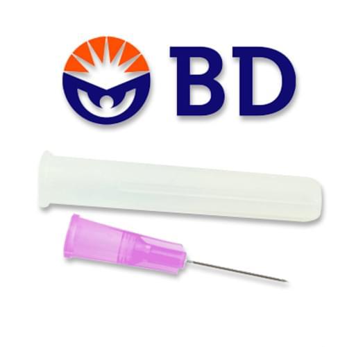 "BD PrecisionGlide Needle 18G x 1"" 100/box"