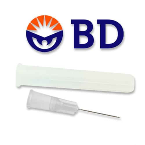 "BD PrecisionGlide Needle 27G x 1/2"" 100/Box"