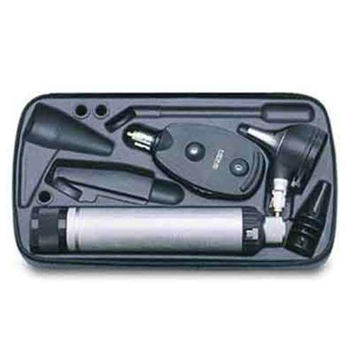 "<p>INCLUDES</p> <p>Kappa Otoscope:</p> <ul> <li>Otoscope with Fiber Optic<br /> illumination</li> <li>Constructed of light, high-impact<br /> polycarbonate and</li> <li>3x magnification</li> <li>scratch resistant acrylic viewing<br /> window.</li> </ul> <p>Kappa Opthalmoscope:</p> <ul> <li>Precision HEINE optics. Brilliant retinal image.</li> <li>XHL Xenon Halogen Technology. Bright, white light.<br /> Clear retinal image.</li> <li>Ergonomic shape. The fi ts the orbita comfortably.</li> <li>Soft orbital rest. Steadies the instrument and protects<br /> your glasses.</li> <li>Choice of 5 apertures. For both large and small pupils.</li> <li>Dust resistant housing. Maintenance free.</li> <li>High impact polycarbonate housing for durability.</li> <li>28 lenses from - 35 D to + 40</li> </ul> <p>Beta 4 USB Rechargeable Handle:</p> <ul> <li>Maximum safety and flexibility. You can charge your HEINE BETA4 USB Handle with any USB plug or other USB power source, with absolute peace of mind. The integrated, exclusive Galvanic Separation Module protects the handle, and the user, even if a faulty or inferior plug is used, preventing the possibility of the full mains voltage flowing directly to the handle. Li-ion technology: no ""memory effect"". Charge your handle how you like without worrying about charge level or battery condition. High capacity: more than double the capacity compared to previous NiMH rechargeable batteries. Quick charge: approx. 4 hours to recharge. High quality metal construction for strength and durability</li> </ul>"