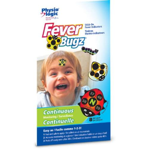 Fever Bugz Thermometers 8/Pk