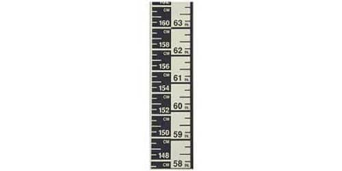 Height Measure Wall Mounted cm & inches
