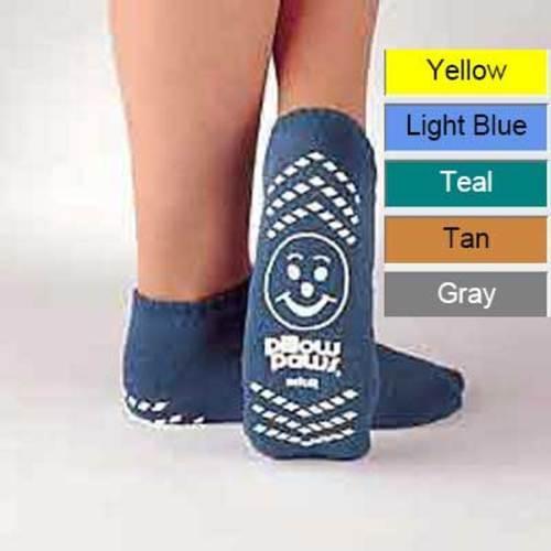 Pillow Paws Terries XXXL Bariatric Royal Blue Double Imprint 48 pairs/case