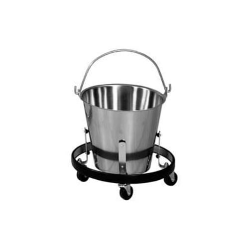 Stainless Steel Buckets & Accessories