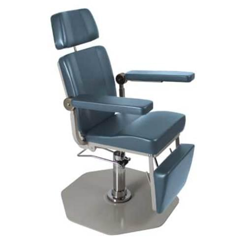 UMF 8612 Phlebotomy/ENT Chair Steel Blue