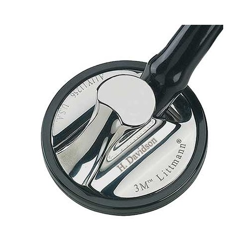 """<p>Reward your achievement with a mark of distinction—the 3M™ Littmann® Master Cardiology™ Stethoscope. With its handcrafted stainless steel chestpiece, this top-of-the-line stethoscope is designed for peak performance. It features a patented tunable diaphragm that conveniently alternates between low and high-frequency sounds with a simple change of pressure on the chestpiece.</p> <p><strong>Details</strong></p> <ul> <li>Anatomically designed headset</li> <li>Two-in-one tube design helps eliminates noise from tubes rubbing together</li> <li>Pressure-based sound frequency adjustment with tunable diaphragm</li> <li>Special-procedures adaptor for neonatal or pediatric auscultation included</li> <li>Includes patented snap-tight soft-sealing eartips</li> <li>Non-chill rim and diaphragm</li> <li>Durable design</li> </ul> <p><strong>Specifications</strong></p> <ul> <li>Binaural Construction: Double Lumen</li> <li>Chestpiece Finish: Brass</li> <li>Chestpiece Technology: Single-Sided</li> <li>Chestpiece Weight: 3.2 Ounce (90 g)</li> <li>Diaphragm Diameter: 2"""" (5.1 cm)</li> <li>Diaphragm Material: Epoxy/Fiberglass</li> <li>Headset Material: Wide diameter aerospace alloy/anodized aluminum</li> <li>Overall Length: 27"""" (69 cm)</li> <li>Performance: 10</li> <li>Special Adaptors: Yes</li> <li>Tube Colour: Black</li> <li>Warranty: 7 Years</li> </ul>"""