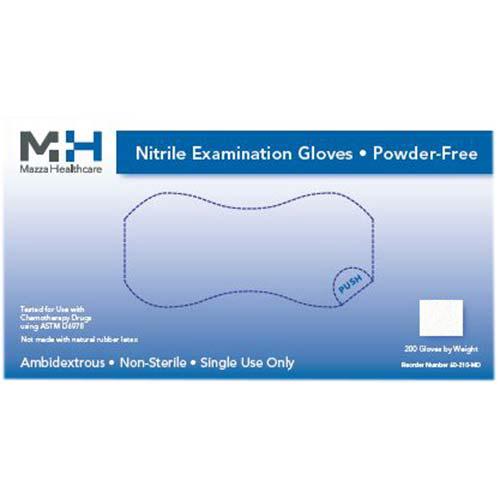 Mazza Healthcare Nitrile Gloves