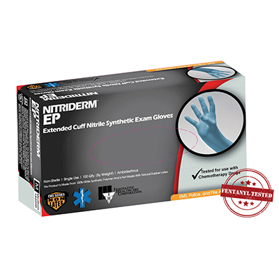 """Extended Cuff Nitrile Gloves 12"""""""