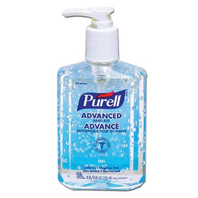 Purell Sanitizers