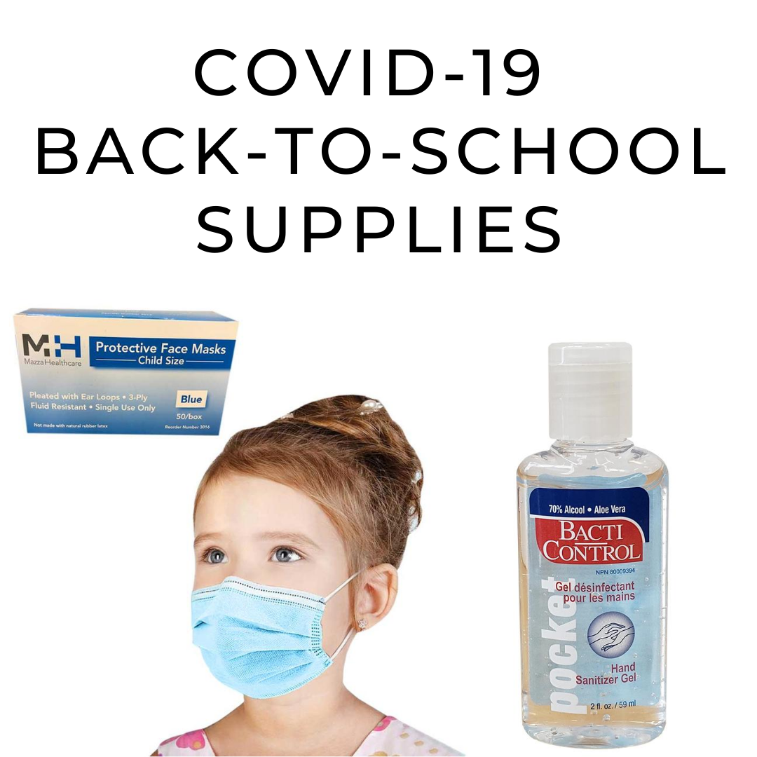 COVID-19 Back To School Supplies