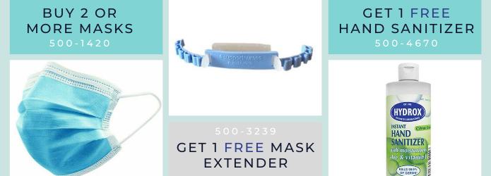 New Mask Promo!