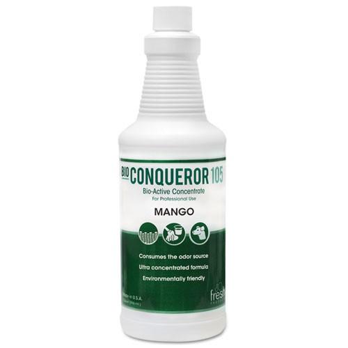 Bio Conqueror 105 Enzymatic Odor Counteractant Concentrate, Mango, 32 oz