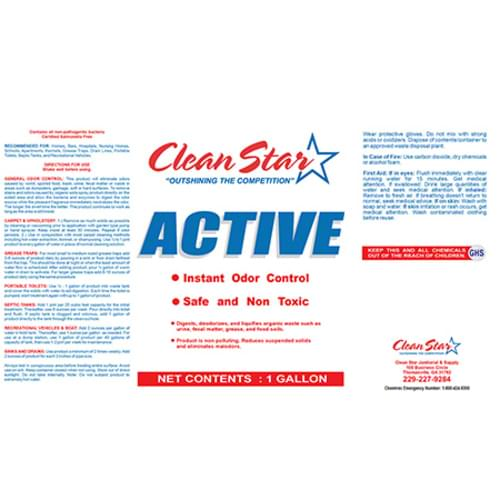 Clean Star Active A/P Bio-Enzyme Cleaner - Gal