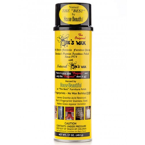 Beeswax Furniture Polish, 17oz, Aerosol