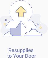 Resupplies to your door