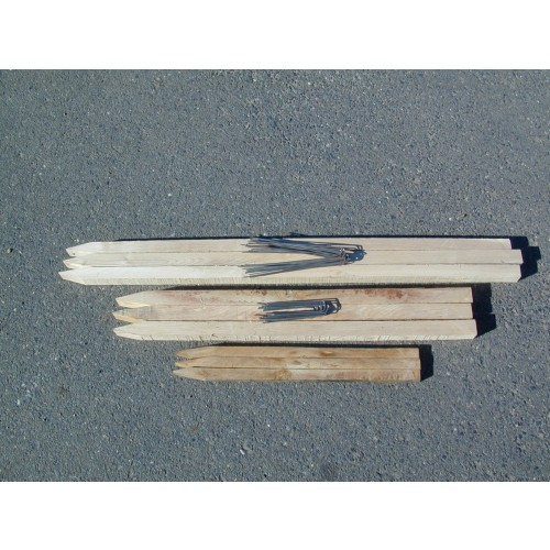 """36"""" WOODEN STAKES (2""""X2"""")"""